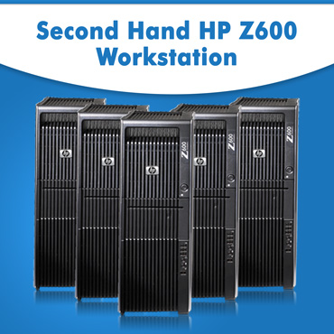 Second Hand HP Z600 Workstation