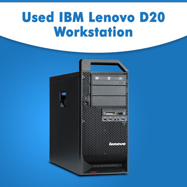Used IBM Lenovo D20 Workstation