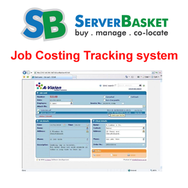 Job costing tracking system