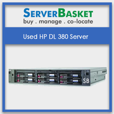 Used HP DL380 Server Online At Server Basket