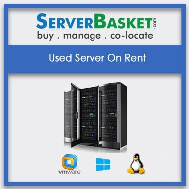 Used Server Rental In India | Servers on Rent