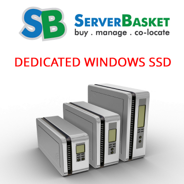 Windows Dedicated Server With SSD in India