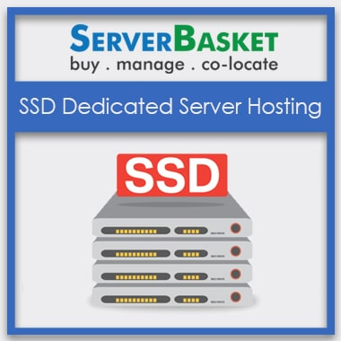 Buy SSD Dedicated Server Hosting in India at Lowest Price from Server Basket