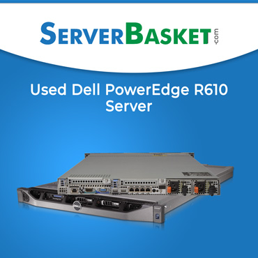 Dell PowerEdge R610 Server, R610 Server, dell r610 server