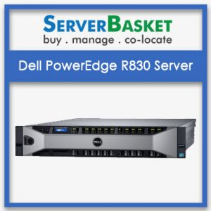 Dell PowerEdge R830 2U Rack Four Socket Server