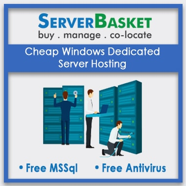 Buy Cheap Windows Dedicated Server Hosting Online in India from Server Basket
