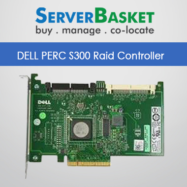 DELL PERC S300 RAID Controller Card