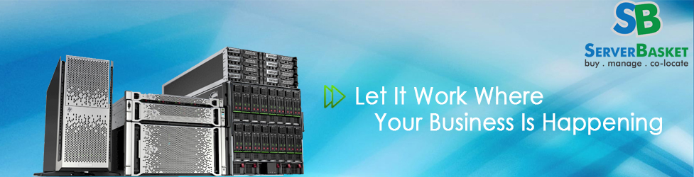 Buy HP Server online in India at a Discounted Price from Server Basket Online