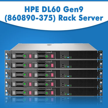 HPE DL60 Gen9 (860890-375) Rack Server