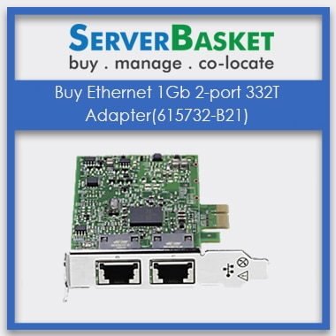 Buy HP Ethernet 1Gb 2-port 332T Adapter(615732-B21)