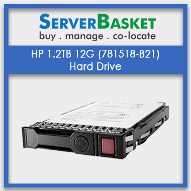 Buy HP 1.2TB 12G 10K rpm SAS HDD from Server Basket in India, Get HP 1.2TB 12G SAS at Cheap price online