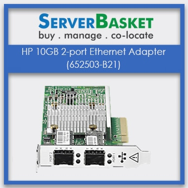 652503-B21 HP Ethernet, HP 10GB 2-port Ethernet Adapter (652503-B21)