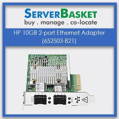 652503-B21 HP Ethernet, HP 10GB 2-port Ethernet Adapter (652503-B21)