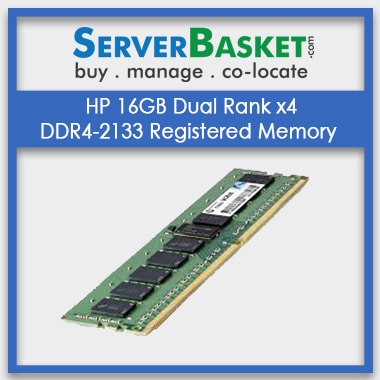 Buy HP 16GB 2x4 DDR4-2133 MHz Server Memory Online in India, Buy HP 16GB DDR4 Memory For HP Servers Online