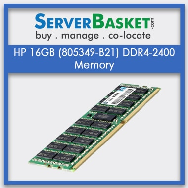 Buy HP Server Memory, Buy HP 16GB DDR4 RAM, Purchase HP 16GB DDR4 Server Memory