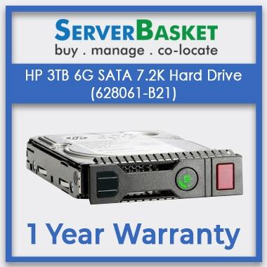 HP 3TB 6G SATA 7.2K Hard Drive (628061-B21)