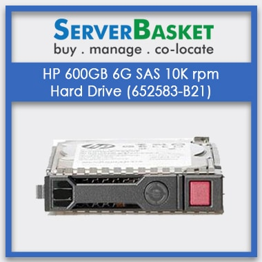 Buy HP 600GB 6G 10K rpm SAS HDD Hard Drive in India from Server Basket, Purchase HP 600GB 6G SAS 10K rpm from Server Basket