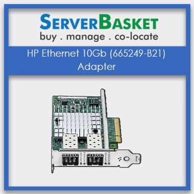 HP Ethernet 10Gb 2-port (665249-B21) Adapter, HP Ethernet 10Gb 2-port 560SFP