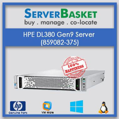 Buy HP ProLiant DL380 Gen9 At Lowest Price in India Online from Server Basket, Purchase HP ProLiant DL380 Gen9 Server Online