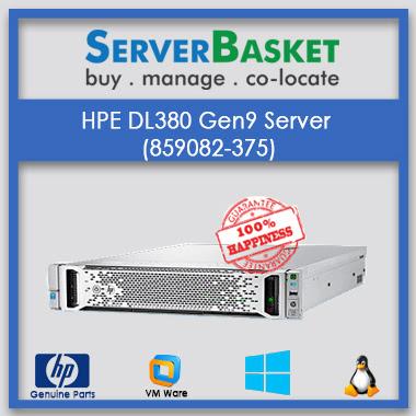 Buy HP ProLiant DL380 Gen9 At Lowest Price in India Online from Server Basket, Purchase HP ProLiant DL380 Gen9 Server Online