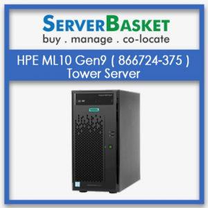 HPE ML10 Gen9 Server, HPE ML10 ( 866724-375) Gen9 Server