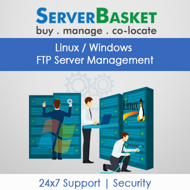 FTP Server Management, file storage server support, ftp server services, ftp server support services, linux ftp server management, windows ftp server