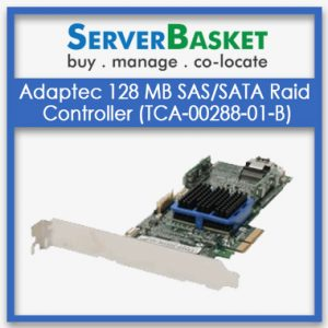 Adaptec 128 MB SAS/SATA Raid Controller