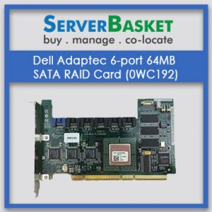 Dell Adaptec 6-Port 64MB SATA RAID Controller