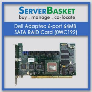 Dell Adaptec 6-Port 64MB SATA RAID Controller