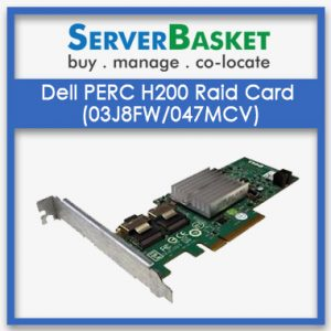 Dell PERC H200 Raid card