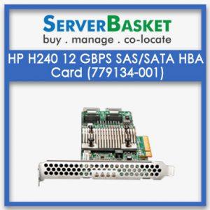 HP H240 12 GBps SAS/SATA Smart Host Bus Adapter HBA Card