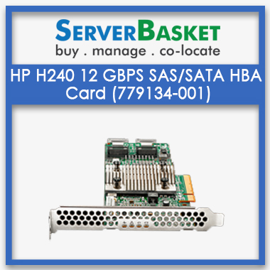 HP H240 12 GBps SAS/SATA Smart Host Bus Adapter HBA Card