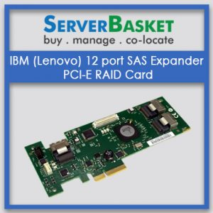 IBM (Lenovo) 12 port SAS Expander PCI-E RAID Card
