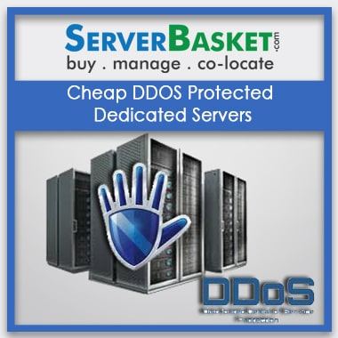 Buy Cheap DDOS Protected Dedicated Servers in India at Cheap Price from Server Basket, Cheap DDOS Protected Dedicated Servers