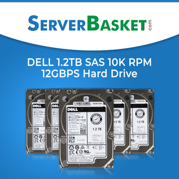 DELL 1.2TB SAS 10K RPM Hard Drive