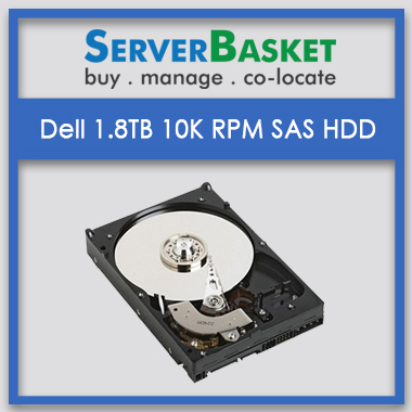 DELL 1.8TB SAS 10K RPM 12GBPS india