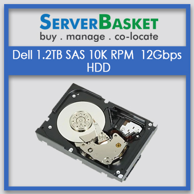 Buy DELL 1.2TB SAS 10K RPM 12GBPS (SFF 2.5) Hard drive online