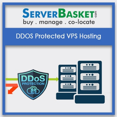 Get DDos Protected VPS Hosting In India for Lowest Price from Server Basket