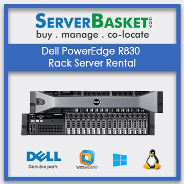 Buy Dell PowerEdge R830 Rack Server Rental In India