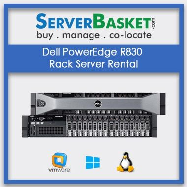 Buy Dell PowerEdge R830 Rack Server Rental In India | Dell Rack, Tower, Blade servers