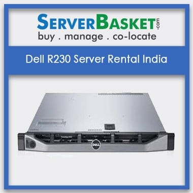 Dell R230 Server Rental In India