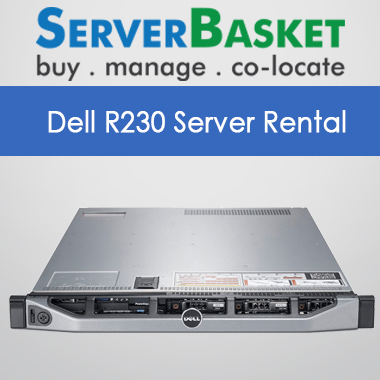 Dell R230 Server rental India,Dell R230 Server rental at lower prices