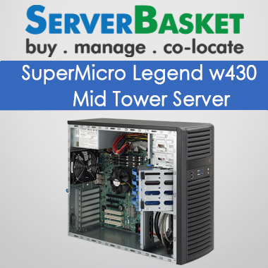 Supermicro RTG Legend W430 mid Tower Server