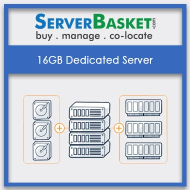 Buy 16GB Dedicated Server At Lowest Price in India Online From Server Basket, Purchase 16GB Dedicated Server