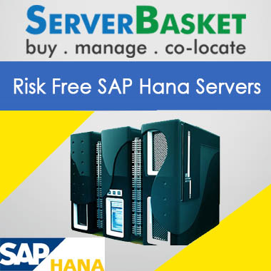 risk free sap hana servers