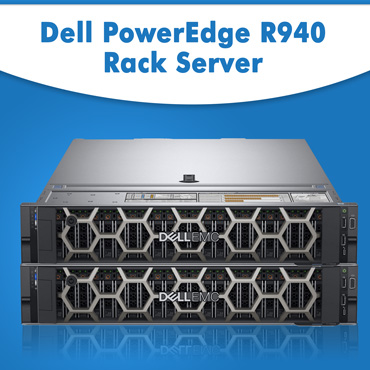Purchase Dell R940 Server | Buy Dell EMC PowerEdge R940 Rack Server at cheap deal price from Server Basket online | Dell R940 Server for Sale