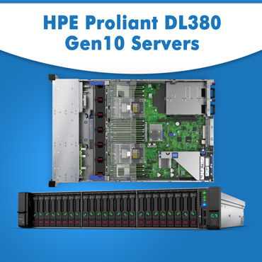 HPE ProLiant DL380 Gen10 Servers, HPE ProLiant DL380 Gen10 Server in India, HPE ProLiant DL380 Gen10 Server at lowest price