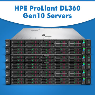 Buy HPE ProLiant DL360 Gen10 Servers from Server Basket, HP ProLiant DL360 Gen10 Server at lowest price in India