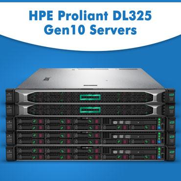 HPE ProLiant DL325 Gen10 Servers, HPE Proliant DL325 Gen10 Servers in India, HPE Proliant DL325 Gen10 Servers at lowest price