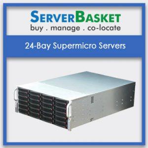 24-Bay Supermicro Storage Servers, 24 Bay 4U Supermicro Server in India, 24 Bay Supermicro Server at lowest price, 4U Supermicro Server
